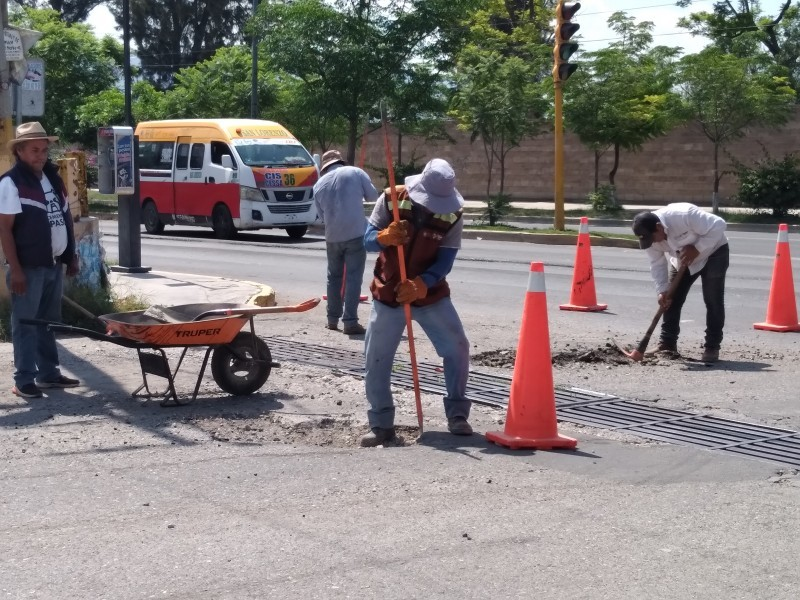 Calles de Tehuacán se benefician tras Programa de Bacheo