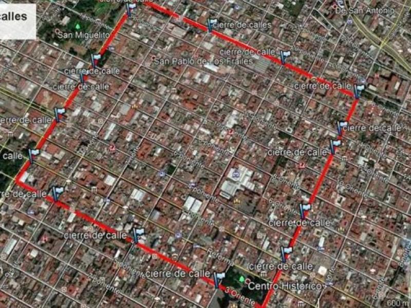 Calles del Centro Histórico continuarán cerradas pese a reapertura económica