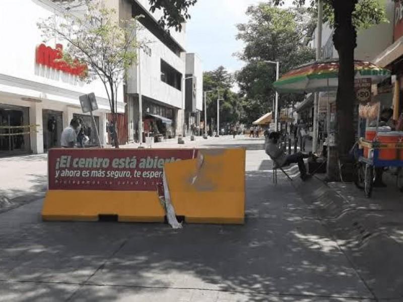 Calles del centro no de reabrirán a automovilistas: Estrada Ferreiro