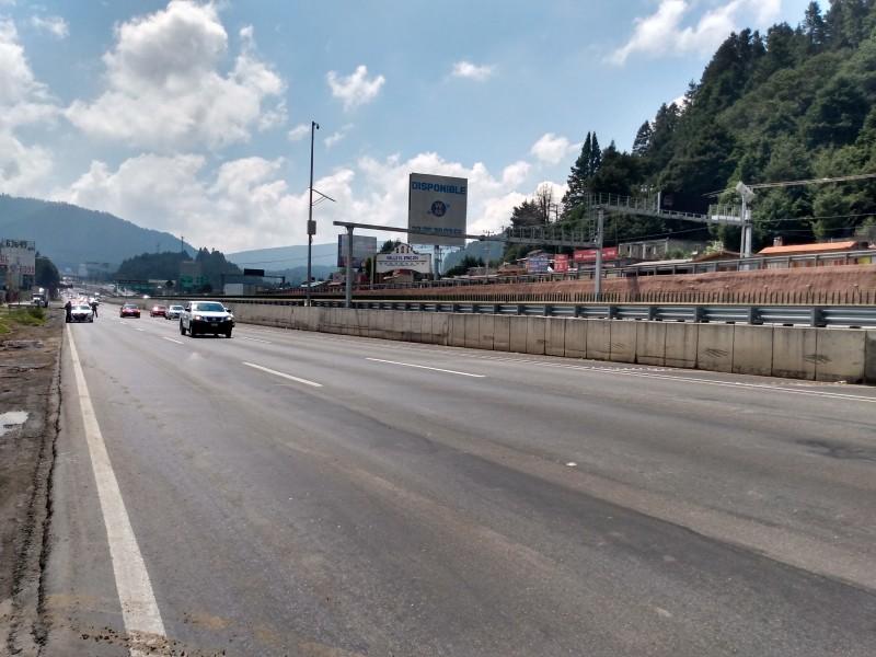 Calles despejadas aumentan accidentes viales.