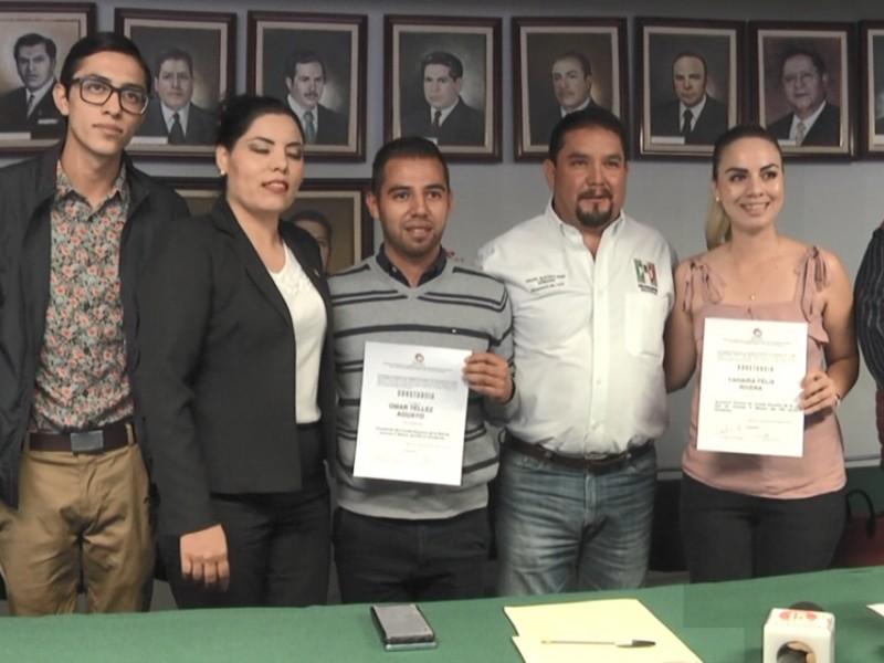 Cambia de dirigencia Jóvenes por México