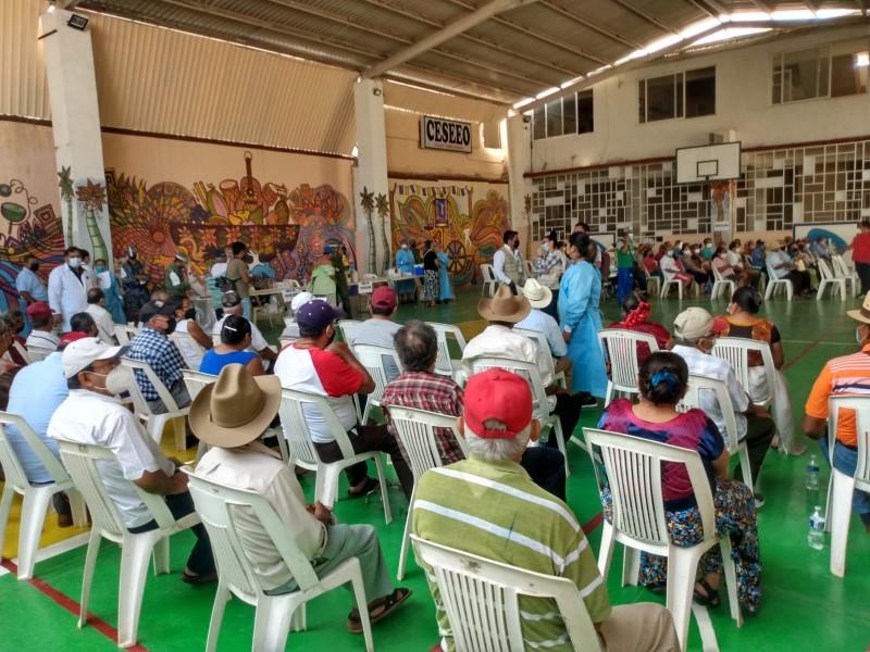 Cambian de sede del módulo de vacunación en Juchitán
