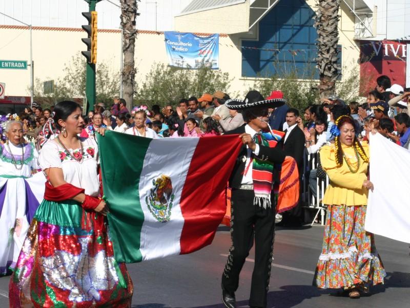 Resultado de imagen para REVOLUCION MEXICANA desfile