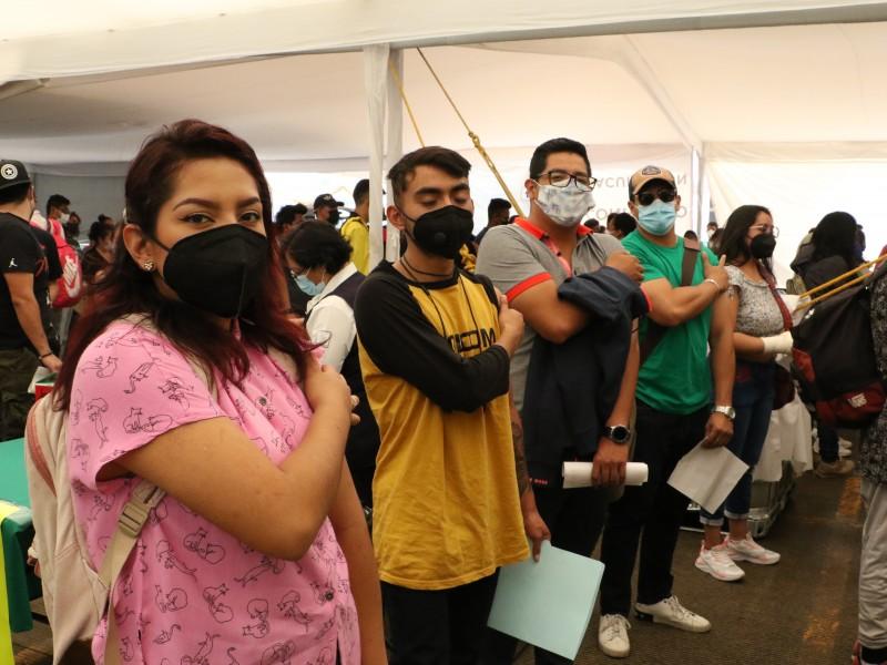 Cambian vacuna para jóvenes de CDMX por demanda