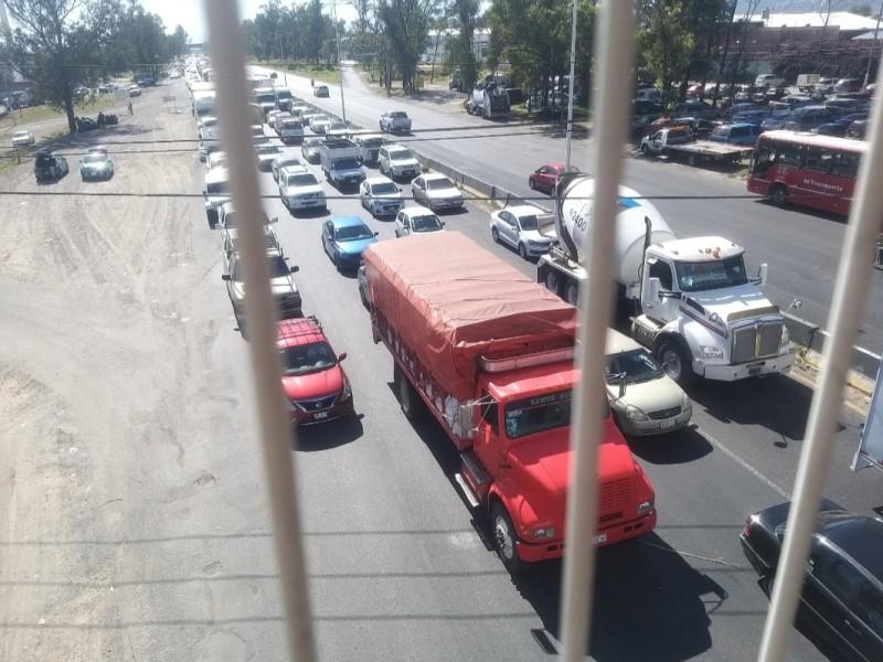 Cambiará contraflujo en carretera Chapala por Macro Periférico