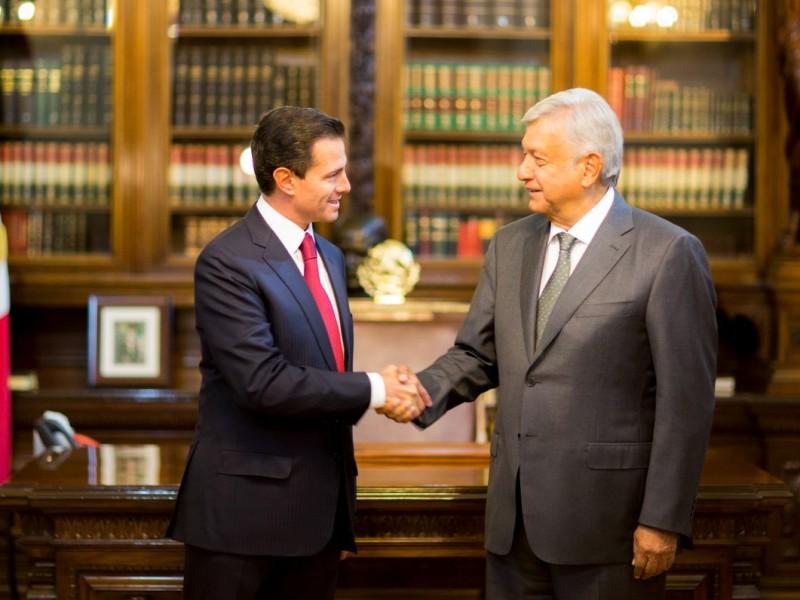 Cambio de poderes en México