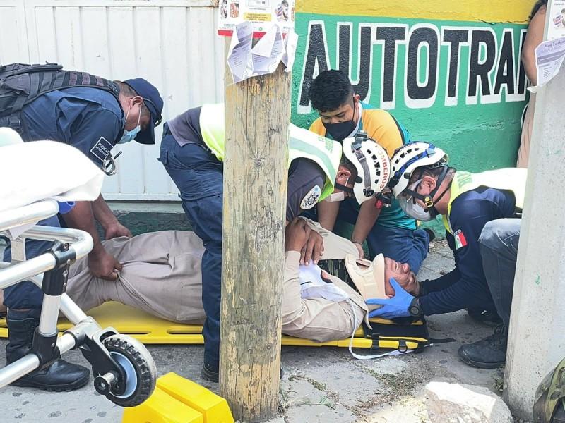 Camión Istmeño atropella a taquero en Juchitán