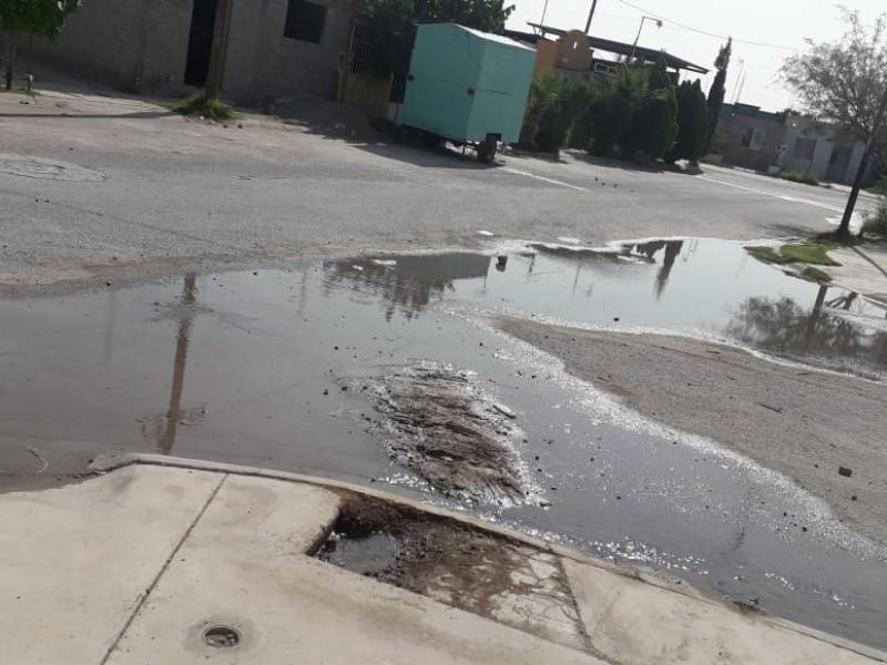Camiones y variación de presión ocasionan fugas de agua