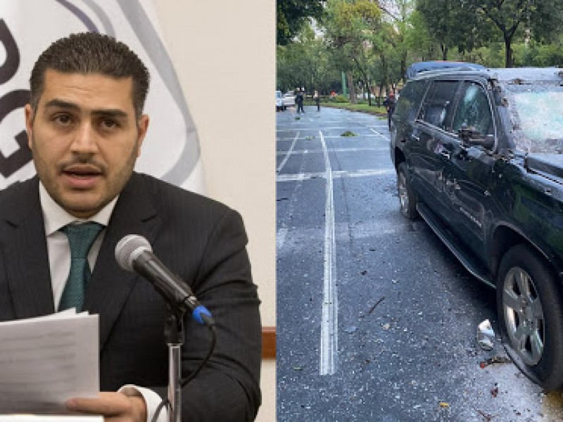 Camioneta de García Harfuch resistió 414 impactos de bala