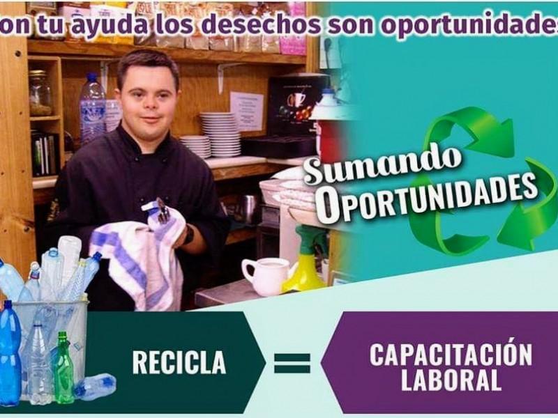 Campaña de reciclaje ayuda a pacientes con discapacidad