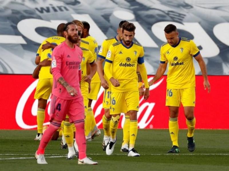 Campanada en La Liga: Cádiz venció al Real Madrid