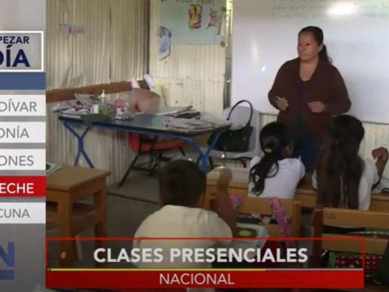 Campeche regresa a clases presenciales