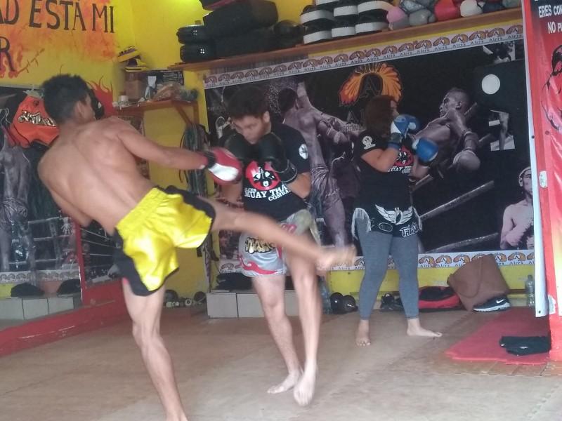 Campeonato Interestatal de Muay Thai en Tepic