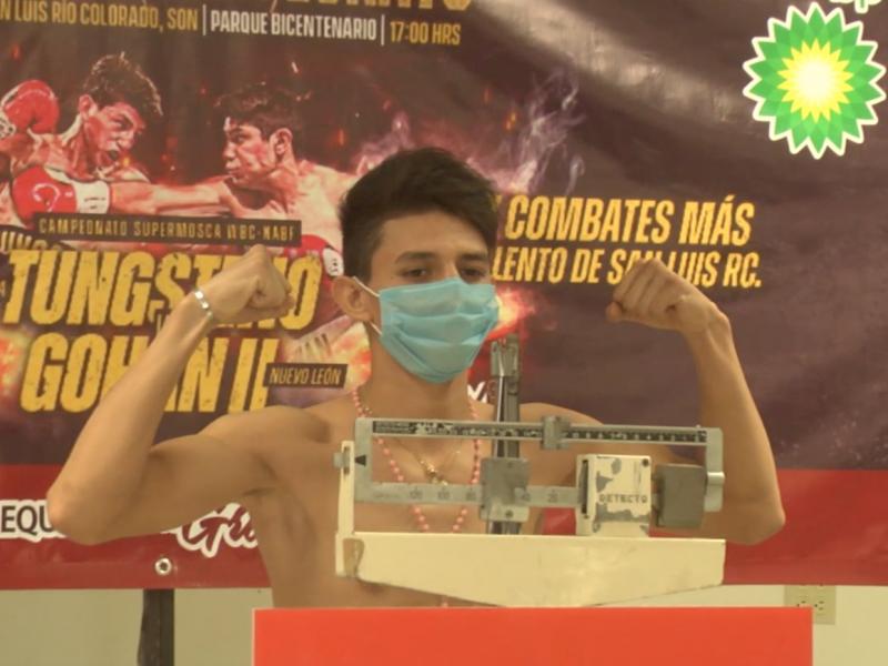 Campeonato supermosca de la WBC, en SLRC