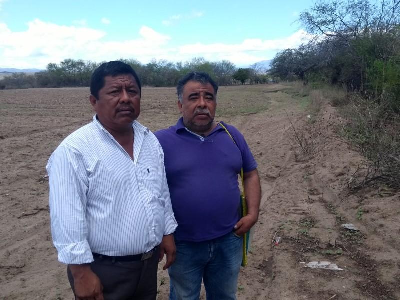 Campesinos de Jalapa del Marqués solicitan apoyos