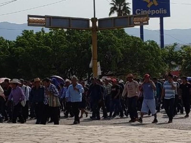 Campesinos exigen Copladem a alcalde de Ixtapa