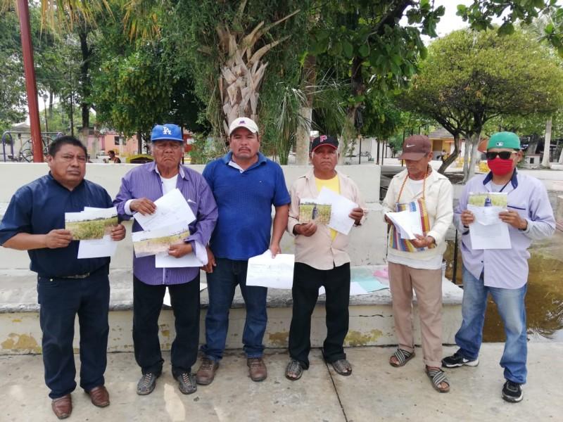 Campesinos zapotecas demandan indemnización por daños a sus cultivos