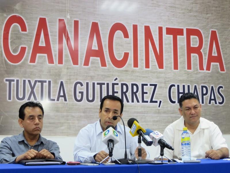 CANACINTRA pide no detener megaproyectos