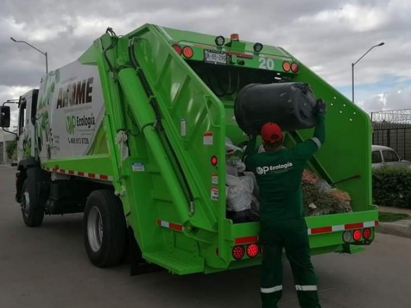 CANACO analiza legalidad de cobro en recolección de basura