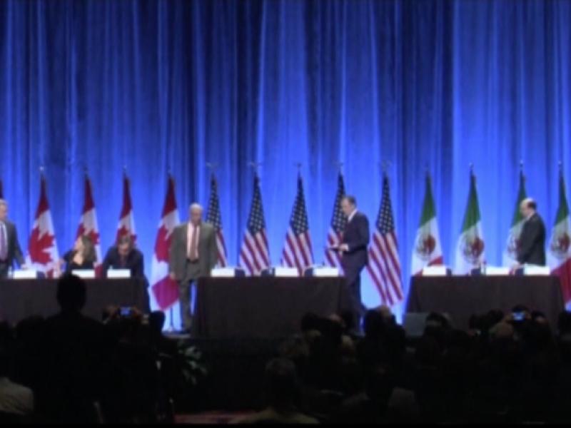Canada, EU y México aceptan acuerdo de TLCAN