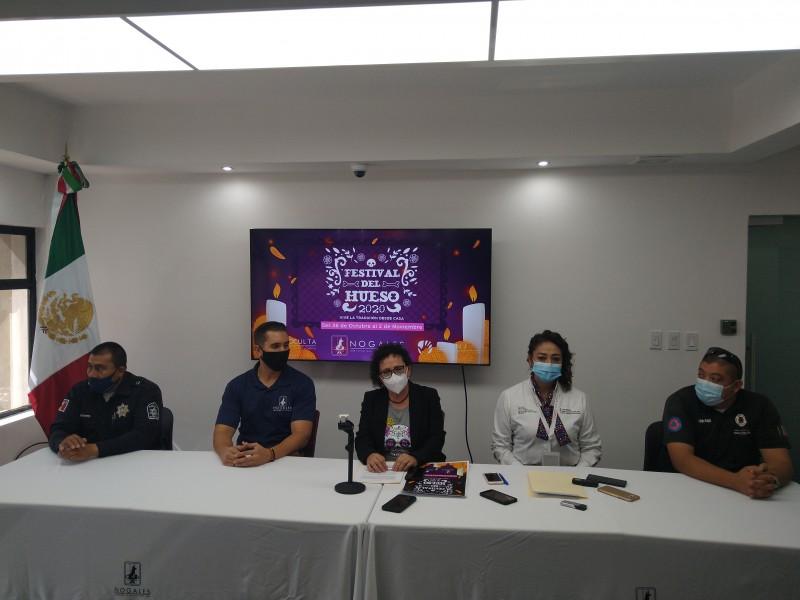 Cancela comité de salud tradicionales fiestas del día de muertos