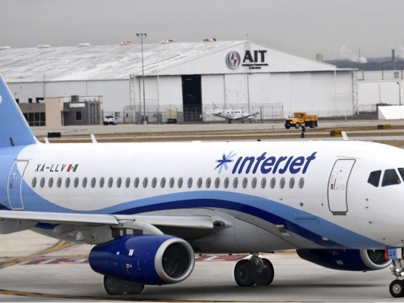 Cancela Interjet todos sus vuelos sin previo aviso