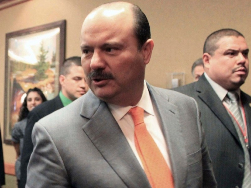Cancelan audiencia del exgobernador César Duarte