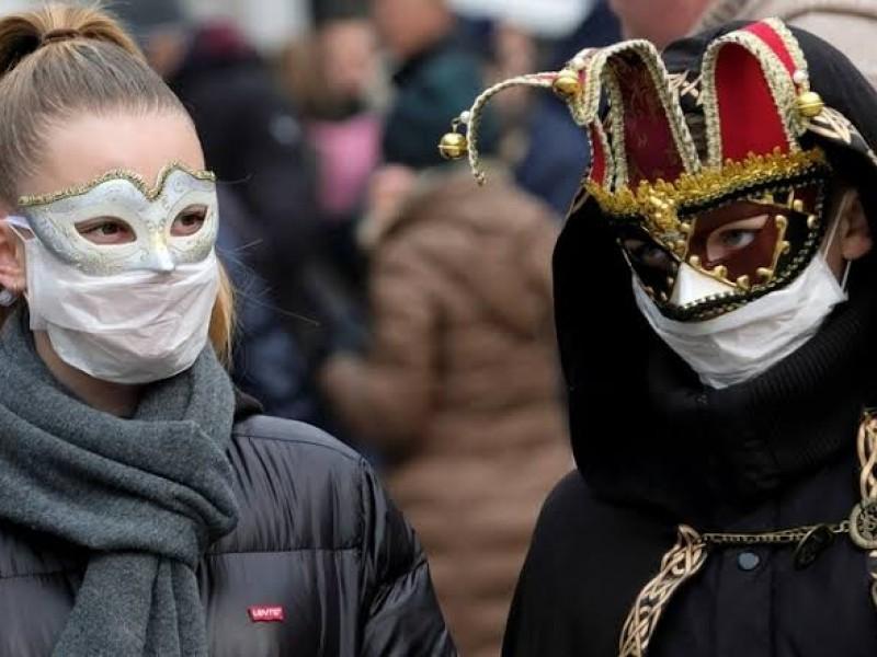 Cancelan Carnaval de Venecia por Coronavirus
