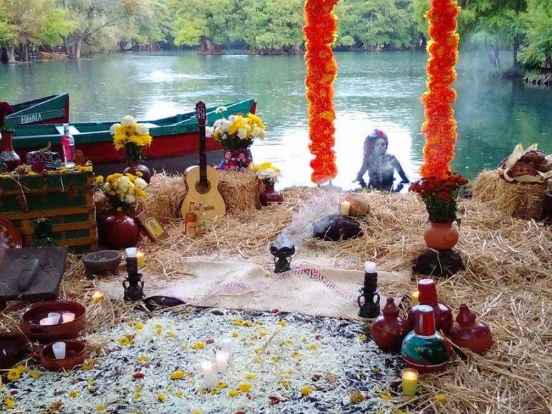 Cancelan celebración del día de muertos en Camécuaro