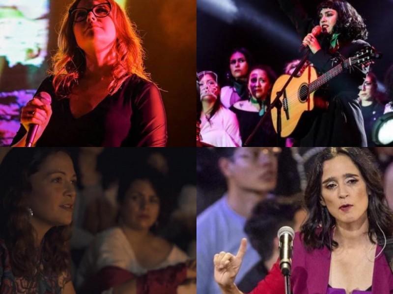 Canciones de protesta, mujeres alzan la voz