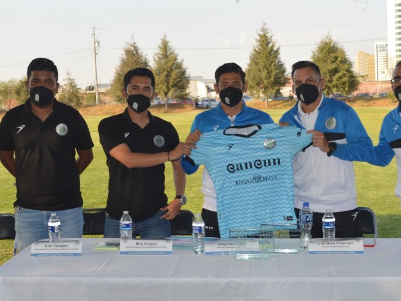 Cancún FC Abre sus Fuerzas Básicas Oficiales en Puebla