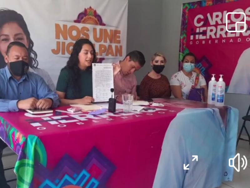 Candidata a la presidencia de Jiquilpan denuncia ataque cibernético