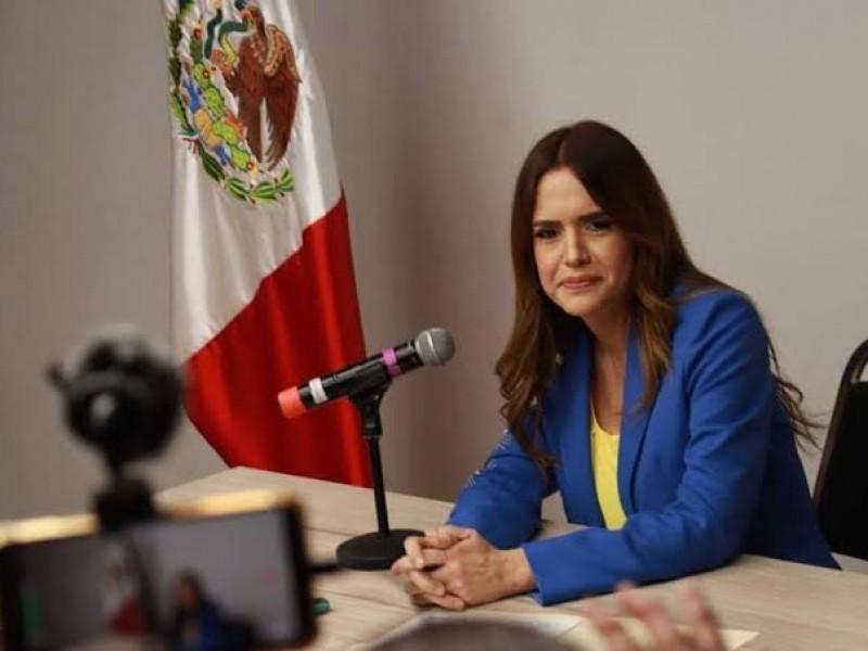 Candidata Clara Luz Flores desmiente opinión tergiversada sobre empresarios