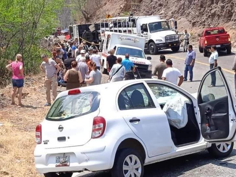 Candidato a la presidencia municipal de Salina Cruz sufre accidente
