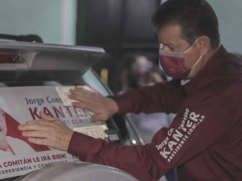 Candidato de MORENA es multado por actos anticipados de campaña