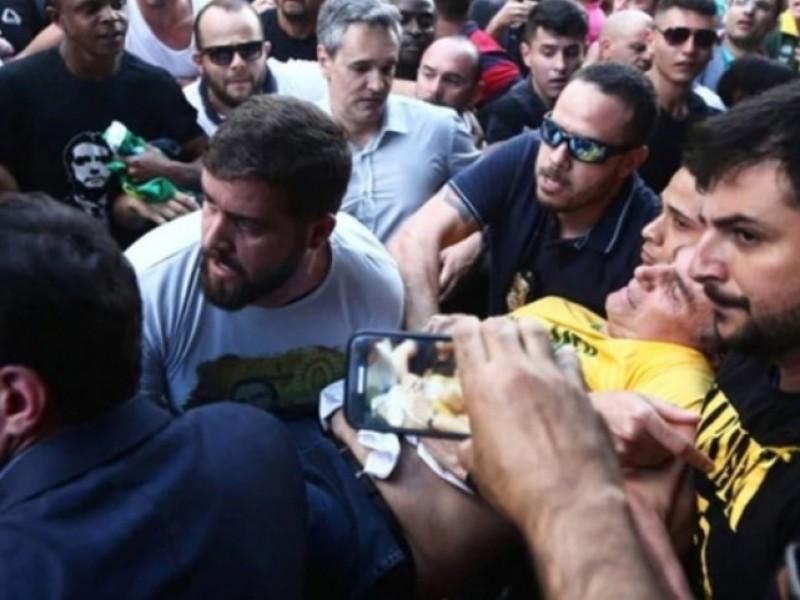 Candidato herido en Brasil se recupera