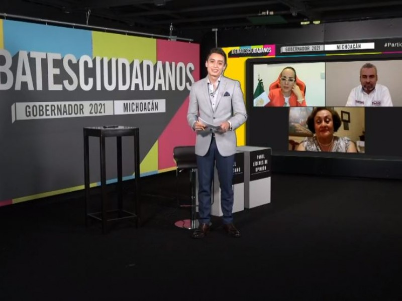 Candidatos a gubernatura de Michoacán ausentes en debate ciudadano