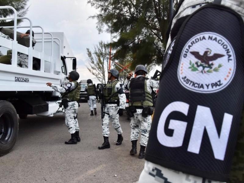 Candidatos solicitan presencia de la guardia nacional para las elecciones