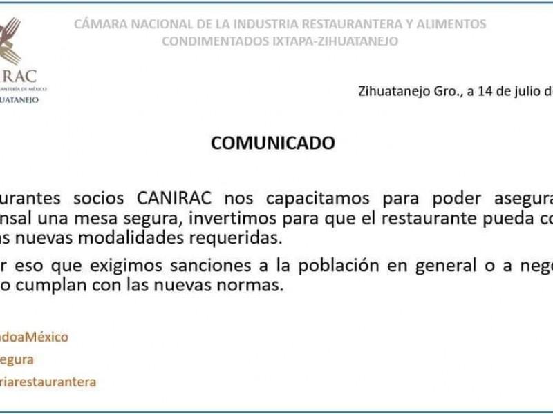 Canirac llama al gobierno a multar a población renuente