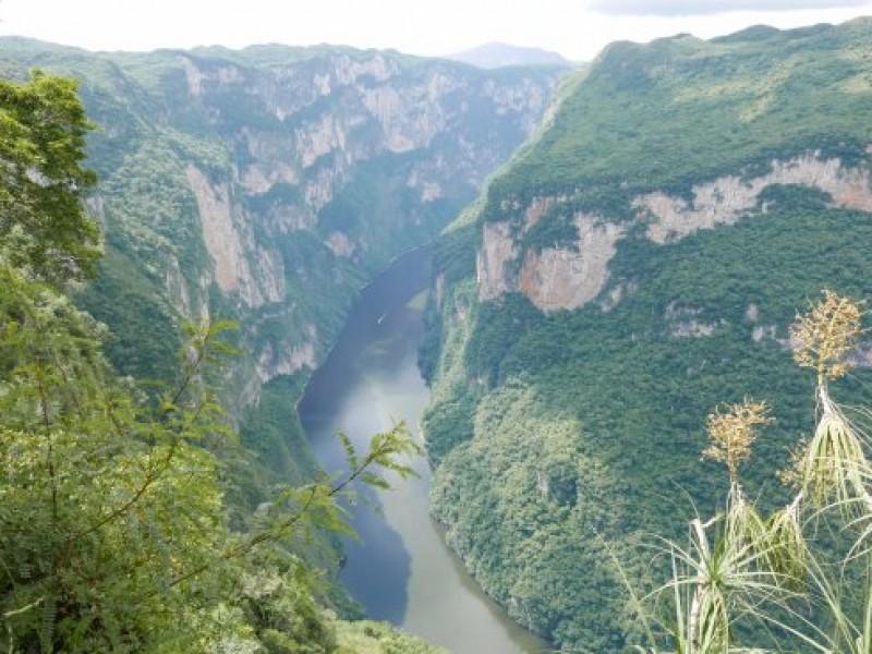 Cañón del Sumidero, de los más visitados