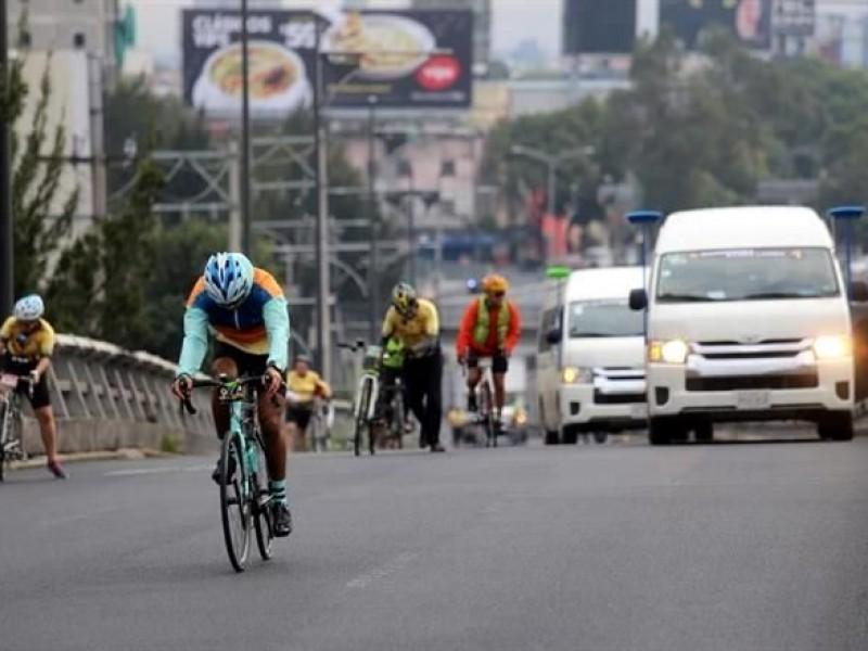 Caos vial por Tour de France en CDMX