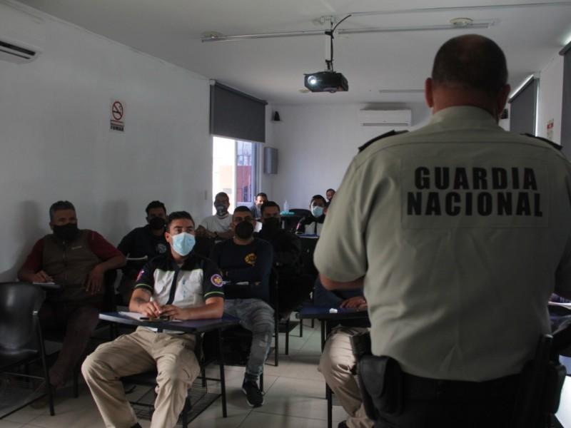 Capacitan a cuerpos de emergencia en Zamora