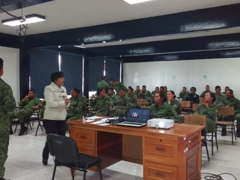 Capacitan a Guardia Nacional