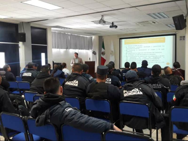Capacitará CEDH a elementos policiacos de la región