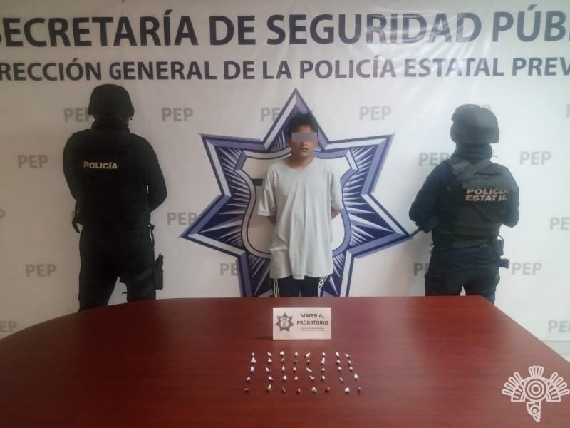 "Captura SSP a presunto distribuidor de ""La Tita"""
