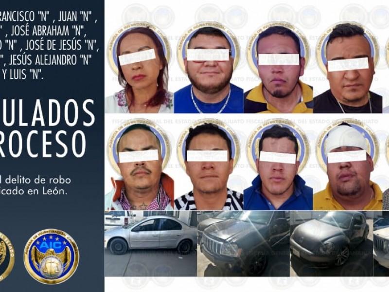 Capturan a banda dedicada al robo de cuentahabientes en León