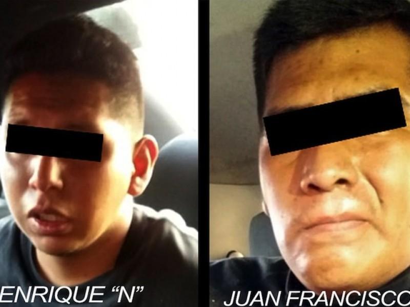 Capturan a dos policías que asaltaron autoboutique