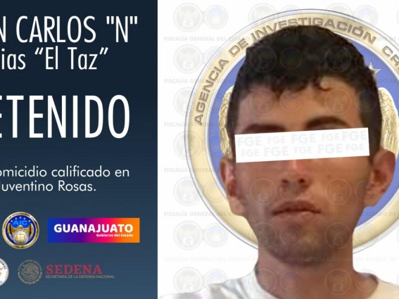 Capturan a el 'Taz' presunto homicida de diputado