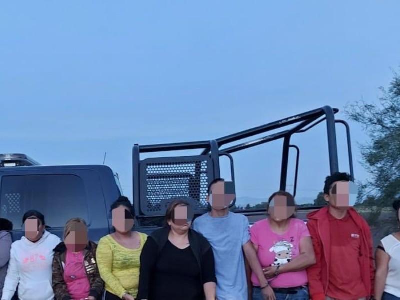 Capturan a mujeres clave para el narco, familia del