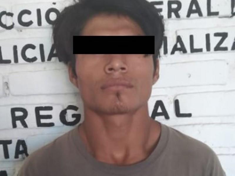 Capturan a presunto pederasta en Berriozabal